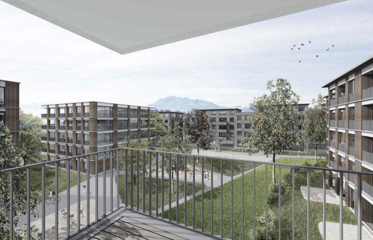 Überbauung Oberdorf