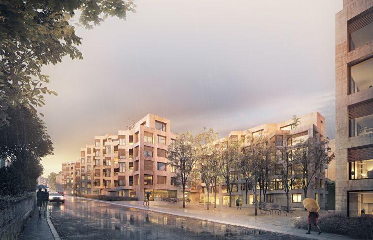 Überbauung Obere Bernstrasse