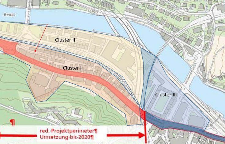 Potentialstudie thermischer Verbund Baselstrasse